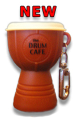Drum Cafe Keyring Shaker
